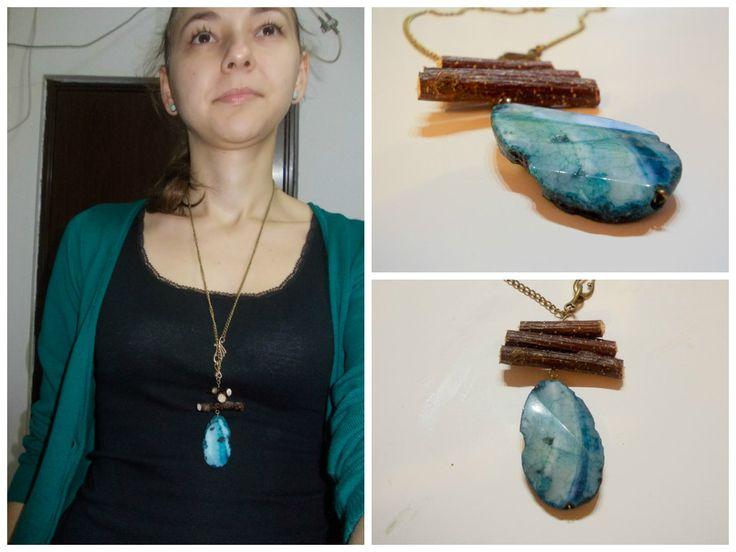 Idei cadouri de Craciun - colierul rustic ideal pentru mama/prietena - partea I