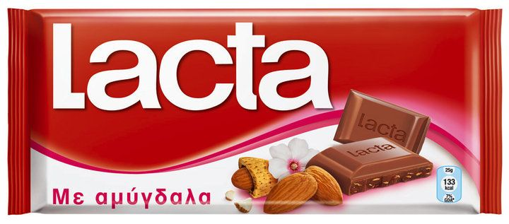 #Greek #Lacta Milk #Chocolate with #Almonds 85g
