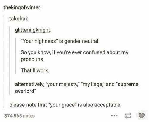 Gender neutral names
