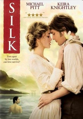 Silk (2007) The story of a married silkworm merchant-turned-smuggler in 19th century France traveling to Japan for his town's supply of silkworms after a disease wipes out their African supply. During his stay in Japan, he becomes obsessed with the concubine of a local baron. Michael Pitt, Keira Knightley, Kôji Yakusho...TS romance