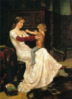 Νηπιαγωγείο Ν.Ποτίδαιας Blog: Πίνακες ζωγραφικής με θέμα τη μητέρα.