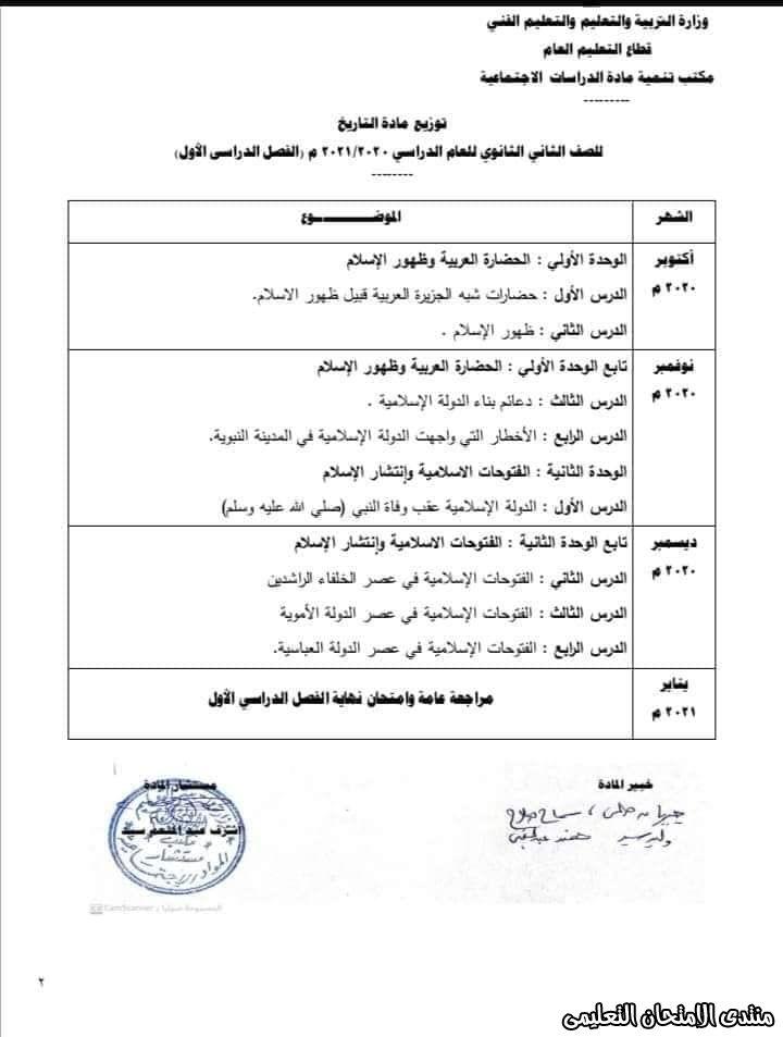 توزيع منهج التاريخ للصف الثاني الثانوي الترم الأول 2021 Exam Boarding Pass Airline