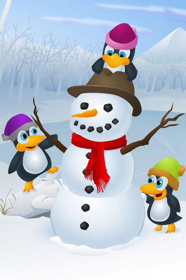 snowman  u0026 penguins