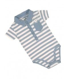 Baby Boy Short Sleeve Romper Suit Only £2.99 Available in sizes 1,3,6,9 & 12 months
