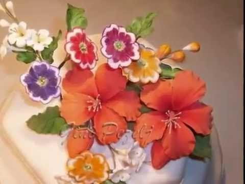 Curso de flores de goma eva online-Flores de beso - YouTube