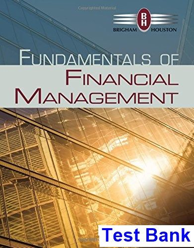 39 best test bank download images on pinterest fundamentals of financial management 14th edition brigham test bank test bank solutions manual fandeluxe Images