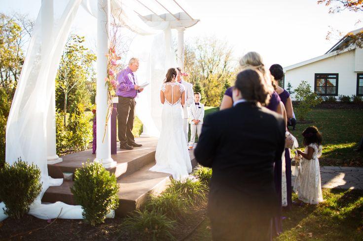 Elegant Drapery At Indoor Ceremony: 25+ Best Ideas About Indoor Wedding Receptions On