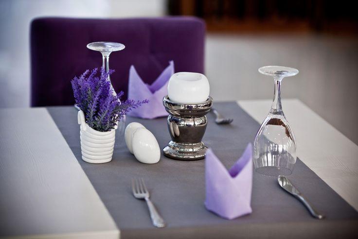 Lawendowy wystrój #lavenda #decor #hotel #poznań