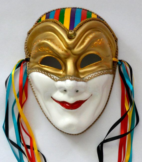 Masks for a truly, new and different kind in decoration.