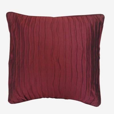 Montgomery Red 'Orleans' cushion cover-   Debenhams