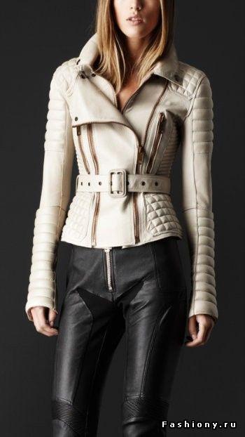 МК по пошиву куртки Burberry Prorsum(1 часть) / выкройки курток из кожи