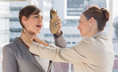 How to Deal With Your Annoying Coworkers: Difficult coworker? Don't resort to strangling her.