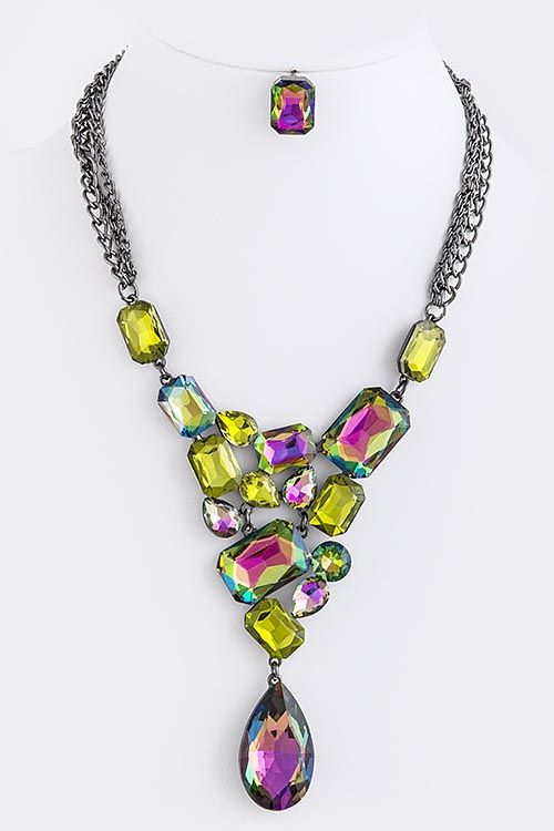 Gorgeous rhinestone necklace!!!
