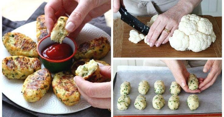 Eine originelle Idee Blumenkohl zuzubereiten! Noch dazu sind diese Gemüse-Kroketten äußerst kalorienarm und einfach nachzumachen! Hier kommt unsere Rezeptanleitung.