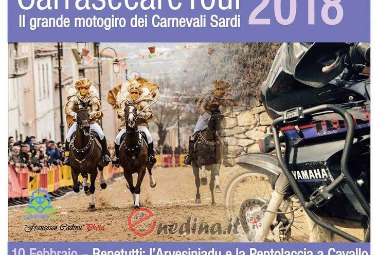 MotoCarrasecare Tour 2018: in sella nel fascino del carnevale sardo