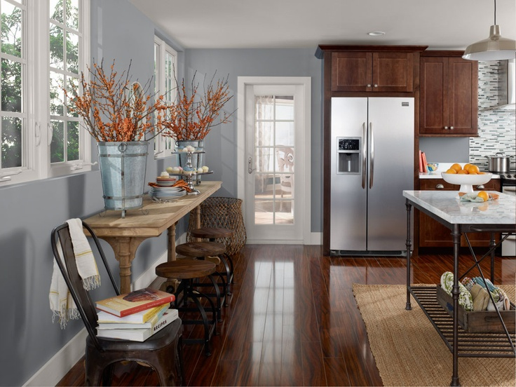 40 best kitchen remodel images on pinterest kitchen kitchen ideas and white kitchens - Benjamin moore paint colors for kitchen ...