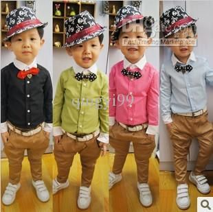 Wholesale Children's Shirts - Buy Children Boy's Autumn 2013 Wift Boys Clothing Candy Color F-6216 Long-sleeve Shirt Do Not with Bow, $8.63   DHgate