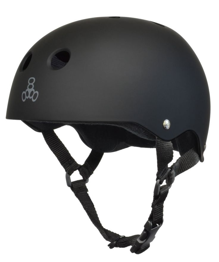 Amazon.com : Triple 8 Brainsaver Rubber Helmet with Sweatsaver Liner : Skate And Skateboarding Helmets : Sports & Outdoors