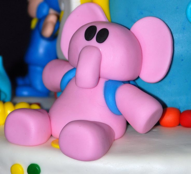 Pocoyo Decorations | Pocoyo - by MamaJennsCakes @ CakesDecor.com - cake decorating website