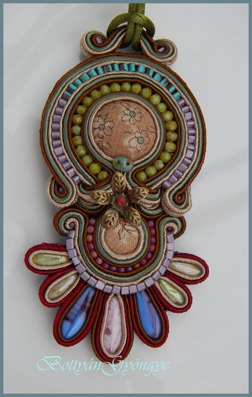 Peru sujtás medál / nyaklánc / Peru and smites pendant / necklace