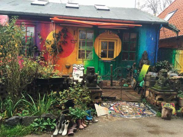 Freetown, Christiania by @gorgeousssleep // via happiestwhenexploring.com