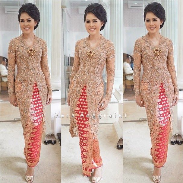 9ff9210e5770463edc06fc16b72dbeb3 kebaya lace baju 30 best kebaya brokat modern images on pinterest batik dress,Model Baju Muslim Vera Kebaya