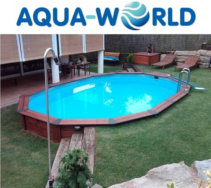 248 best images about i want a pool on pinterest for Above ground pool decks indianapolis