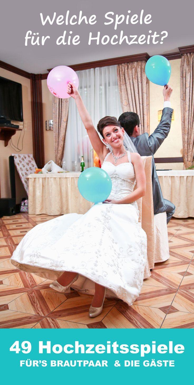 Welche Spiele zur Hochzeit machen? 49 lustige Hochzeitsspiele für Brautpaar und…