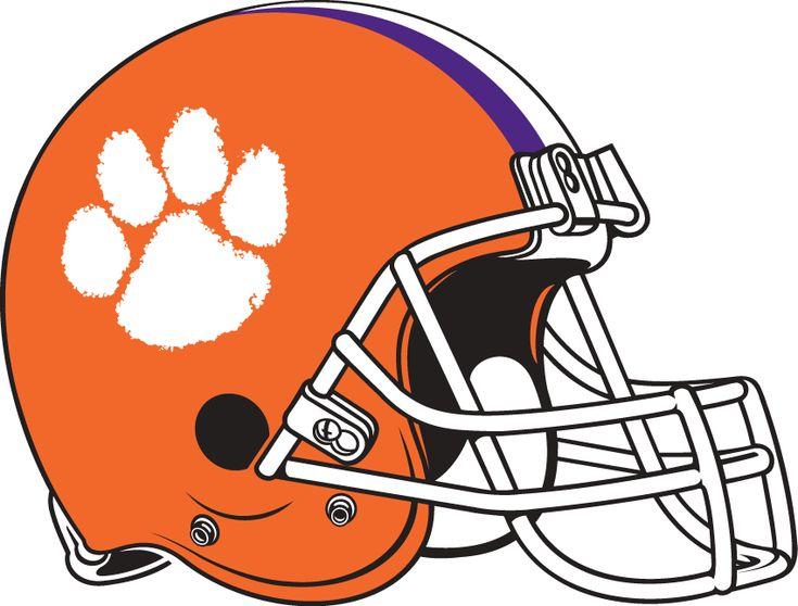 Clemson tigers helmet logo ncaa division i ac ncaa a