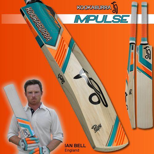 New 2014 Kookaburra Impulse Cricket Bat, as endorsed by England batsman Ian Bell. Coming soon to www.cricketdirect.com