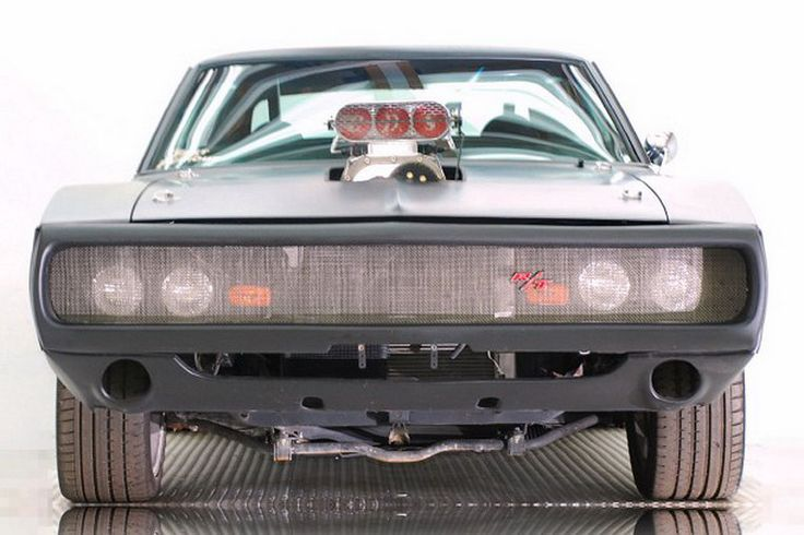 Vin Diesel's 1970 dodge charger RT from fast and furious movie