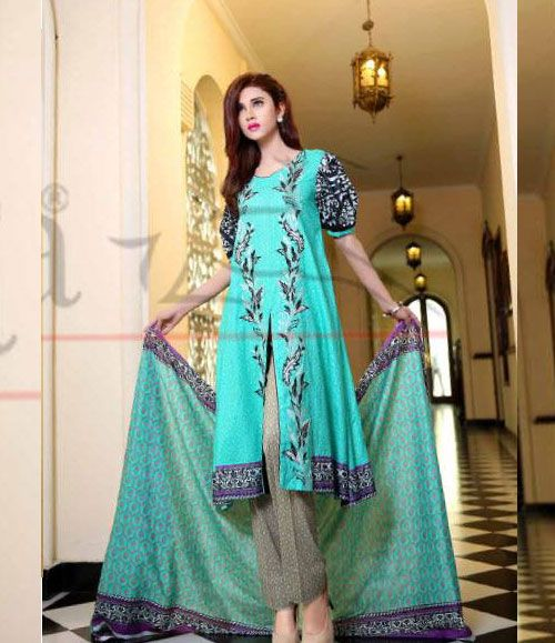 Lala Classic Cotton Embroidered lawn Suits Vol 1. CCE_04B