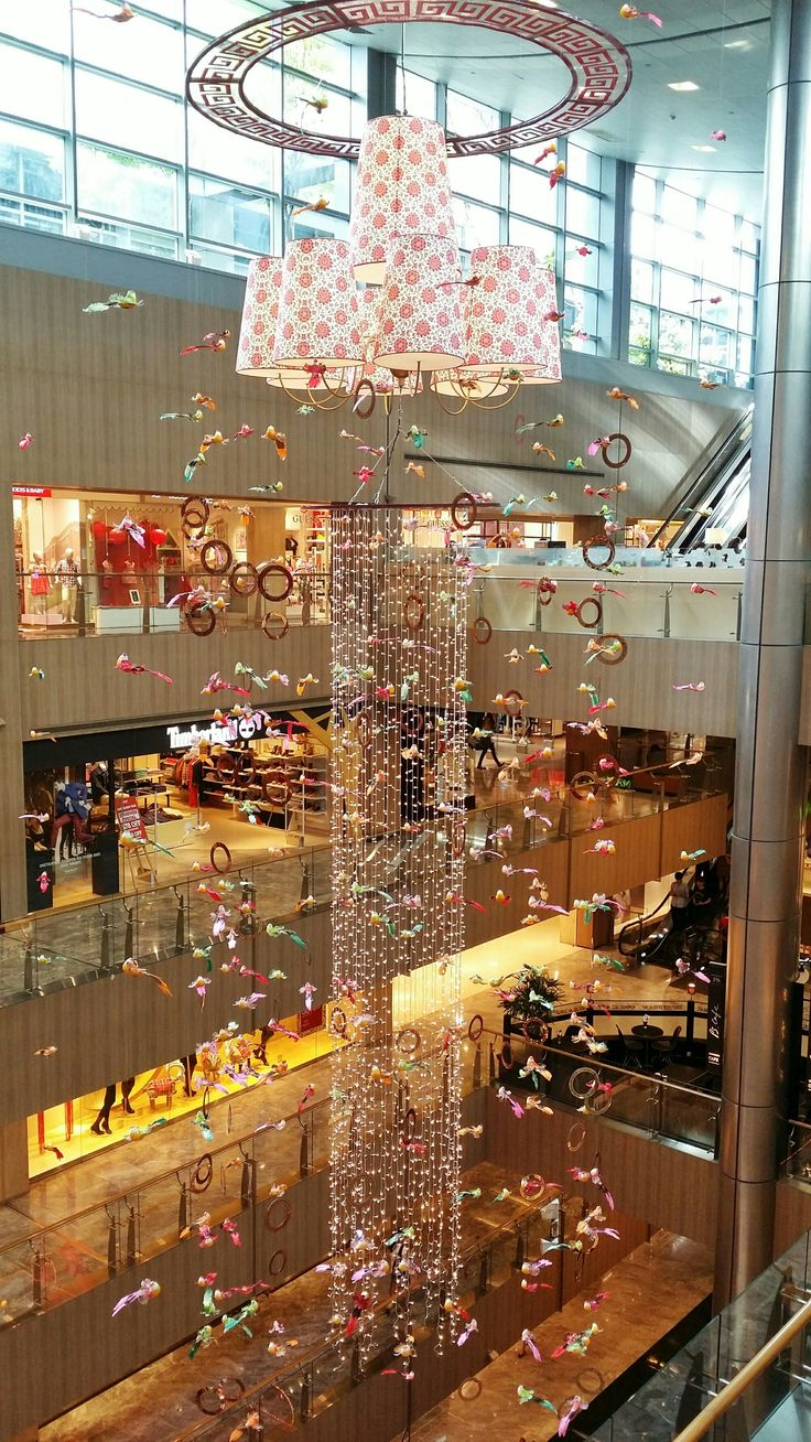 Chinese New Year Decorations at Paragon, Singapore
