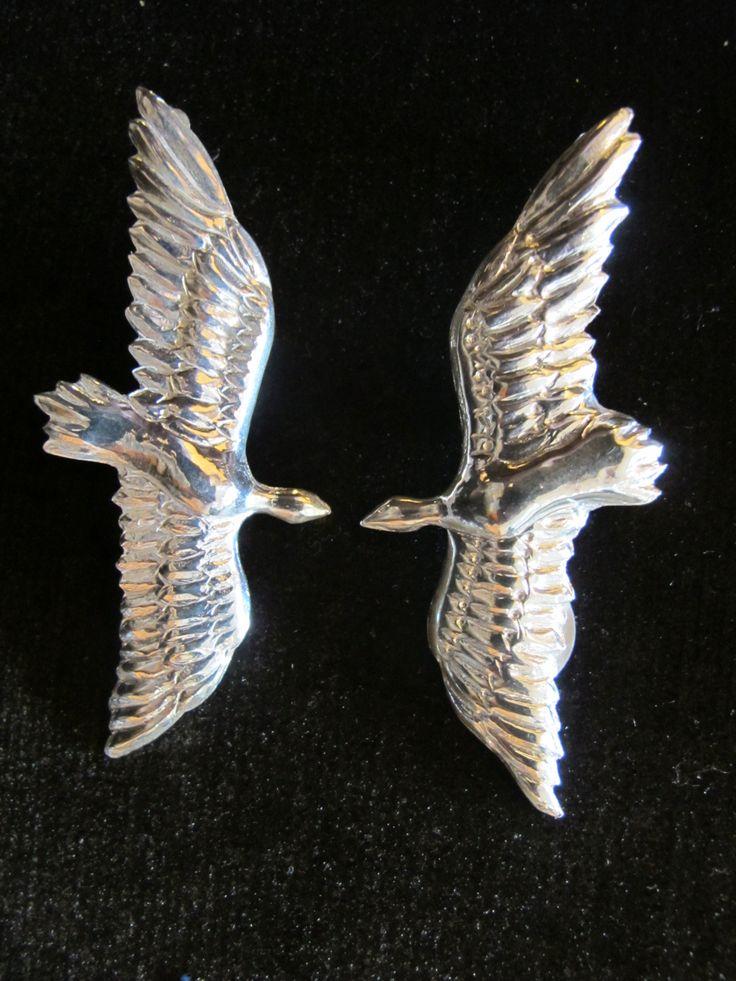 Aretes Aves del Paraíso. Plata 925. $360.000, no incluye el envío.
