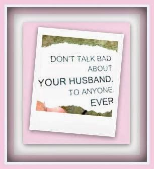 living from glory to glory Do Not Disrespect Your Husband...