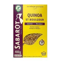 Mélange quinoa et boulgour 400g Sabarot