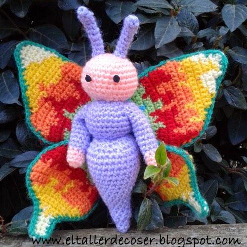 Patrón Mariposa Crochet