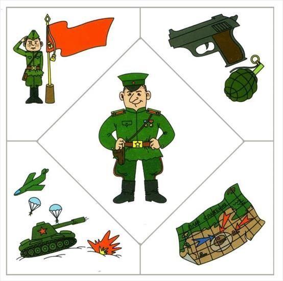 puzzle - vojak