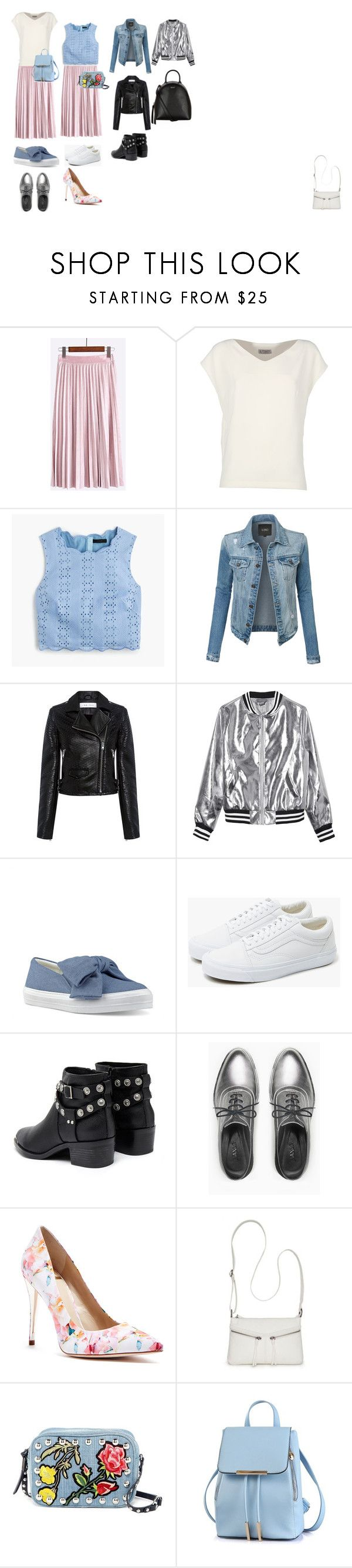 Без названия #2 by fashionsetter-598 on Polyvore featuring мода, Alberto Biani, J.Crew, IRO, LE3NO, Sans Souci, Max&Co., GUESS by Marciano, Vans and Nine West