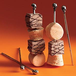 Chocolate Marshmallows - The Haunted Hostess: Adult Halloween Party Ideas - Page 9 | MyRecipes.com Mobile