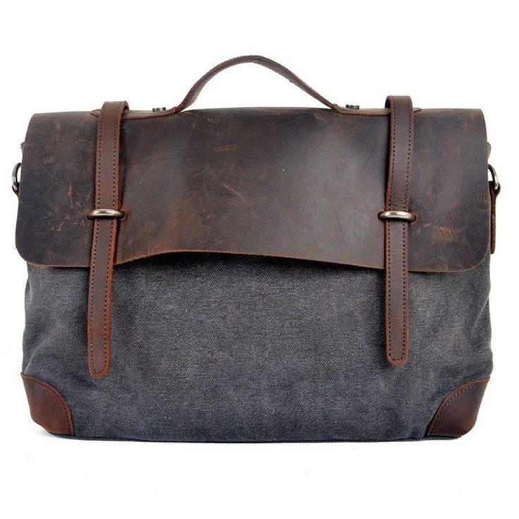 Women's canvas shoulder bag or handbag