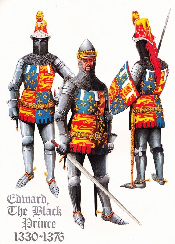 Edoardo il principe Nero, XIV secolo