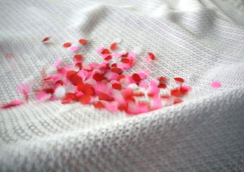Confetti in motion... Luxury handmade paper decorations bu Paper Street Dolls
