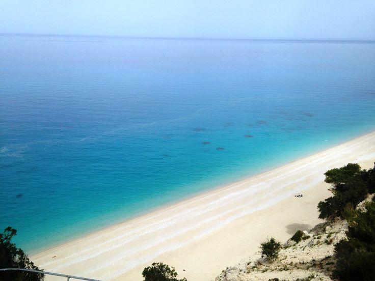 Türkises Meer, weißer Strand - traumhaftes Griechenland mit Karibik Flair