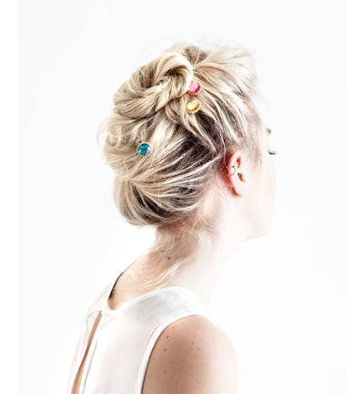 sunburst bobbi set - pretty bobbi pin bling for your hair do
