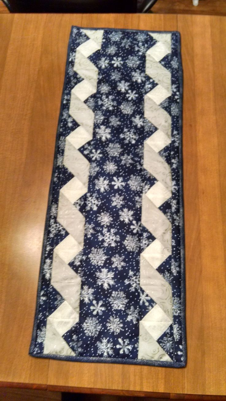 Ribbon Table Runner for my Mother-In-Law!