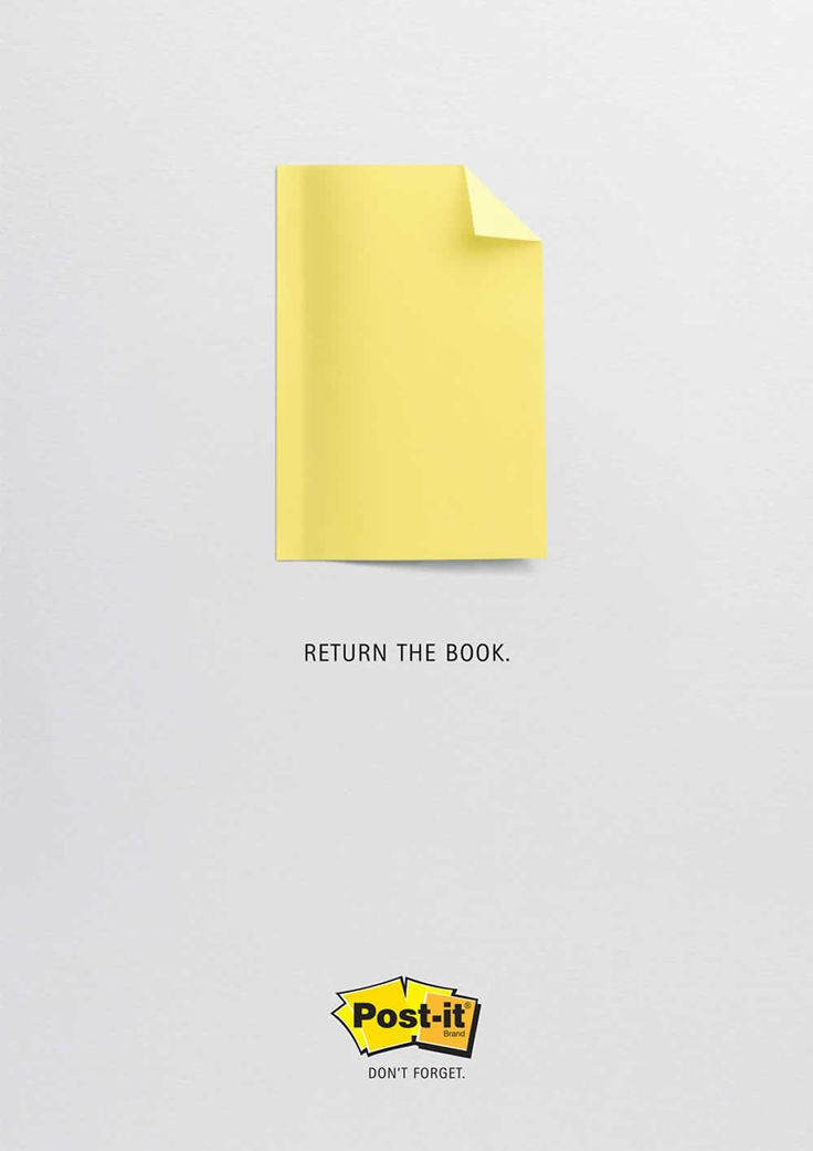 Post-it: Book.