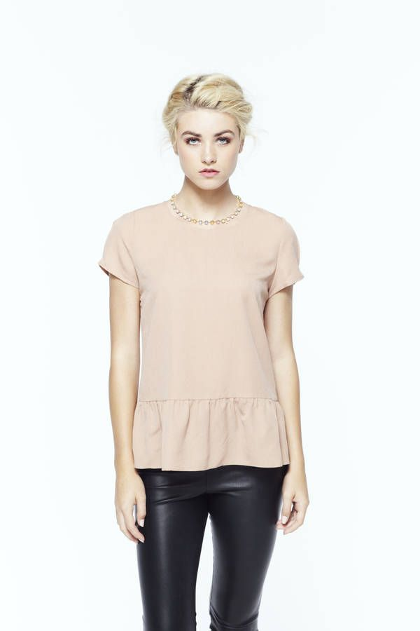 """Don""""t usually like #peplum...but this one I'll take!"""