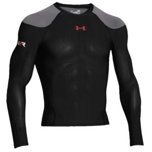 Under Armour Recharge Energy Shirt - Men's - Black/Risk Red
