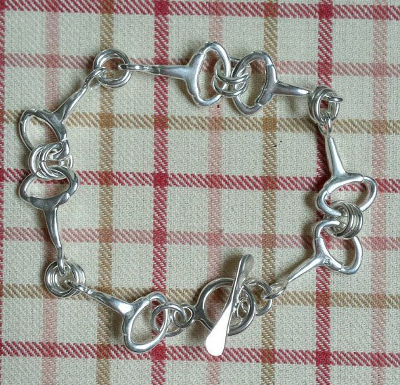Check out this item in my Etsy shop https://www.etsy.com/listing/220308904/horse-bit-bracelet-sterling-silver